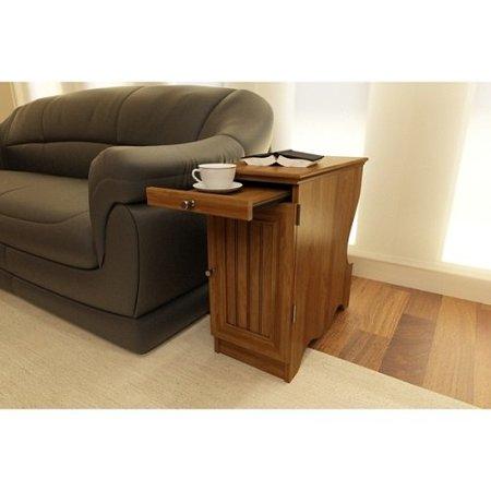 Altra Wooden Side Table Bank Alder