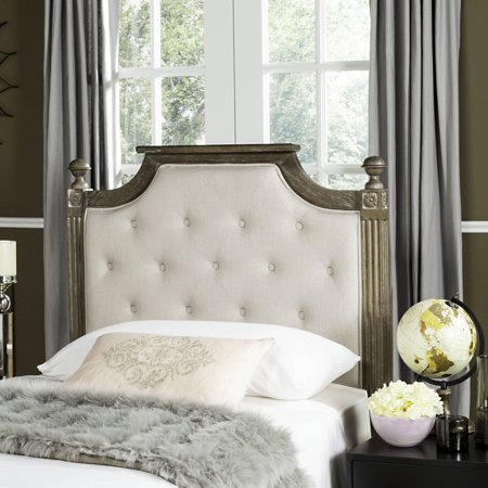 Safavieh Rustic Wood Tufted Headboard Available In Multiple Colors And Sizes