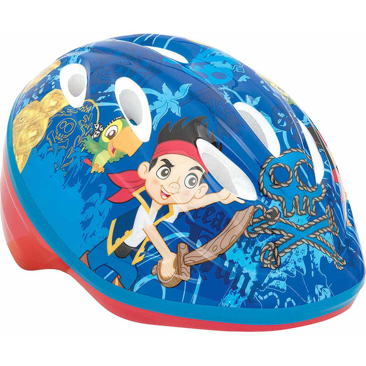 Disney Jake and the Never Land Pirates Toddler Helmet, Blue