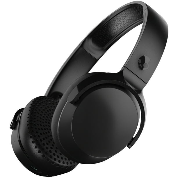 Skullcandy Riff Bluetooth Headphone With Mic In Black Walmart Com Walmart Com