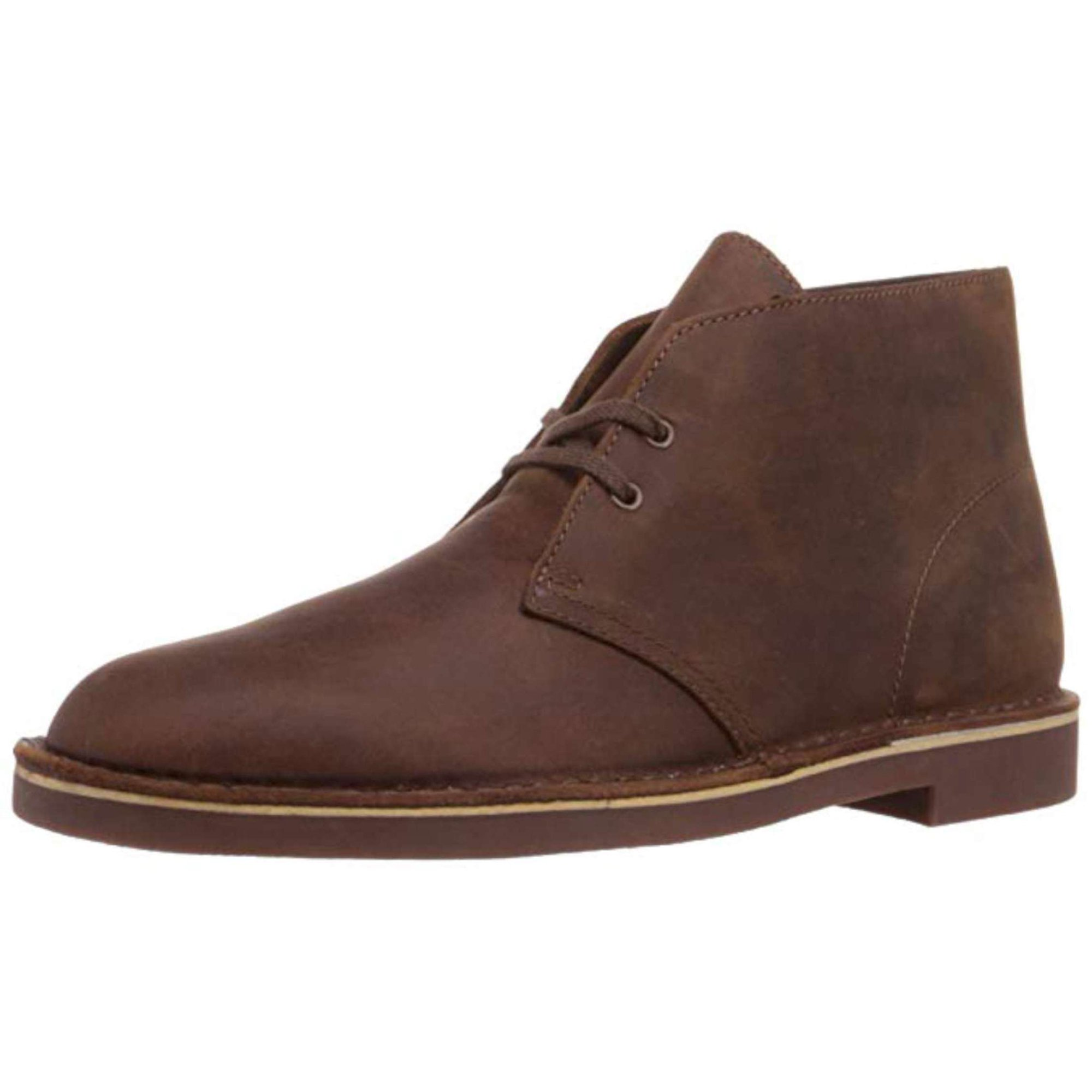 f254c11c78f Clarks Mens Bushacre 2 Leather Round Toe Ankle Fashion Boots ...