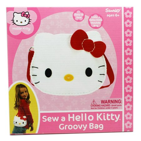Hello Kitty Sew a Hello Kitty Groovy Bag Kids Sewing Project Kit - Hello Kitty Laptop Bag
