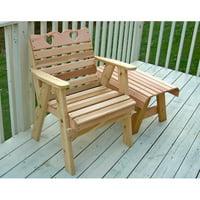 Creekvine Designs Country Hearts Cedar Patio Chair by Creekvine Designs Inc