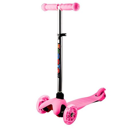 BIG SALES Toddler Baby Scooter, 3 Wheel Adjustable Kids Kick Scooter with LED Light Up Wheels, Birthday Gifts for Children Boys Girls 2 to 6 Years - 2 Year Old Baby Girl Birthday Themes