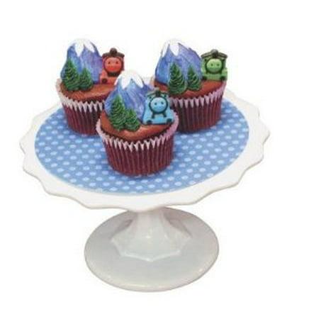 Edible Thomas Cake Decoration : Thomas the Train Edible Sugar Cupcake & Cake Decoration ...