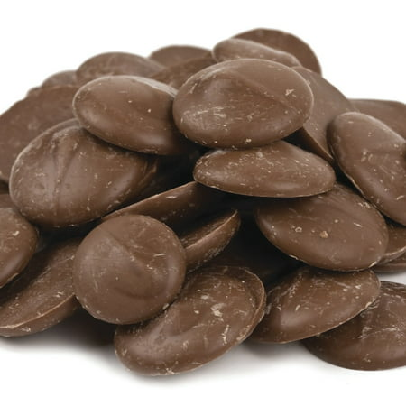 Merckens Chocolate Ingredients (Milk Chocolate Mercken Wafers - 10 Lb Case )
