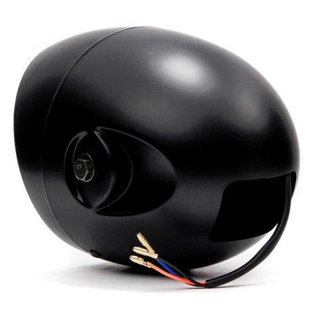 "Krator 7"" Black LED Motorcycle Headlight w/ Side Mounting Running Light High / Low Beam for Harley Davidson Softail Fat Boy FLSTF - image 3 de 6"