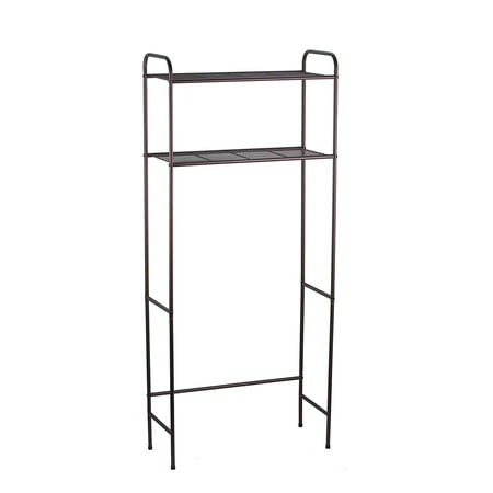 Home Basics 2-Shelf Bathroom Space Saver