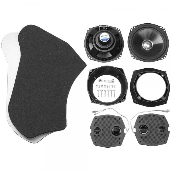 J Performance 7.25in. Fairing Speaker Upgrade Kit HRSK-72...