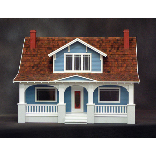 Real Good Toys Classic Bungalow Dollhouse