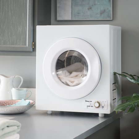 Magic Chef 2.6 cu. ft. Compact Electric Dryer, White