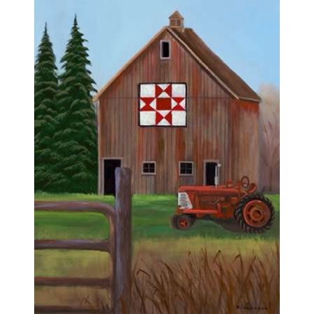 Quilting Canvas (Quilt Barn Canvas Art - Julie Peterson (24 x 30) )
