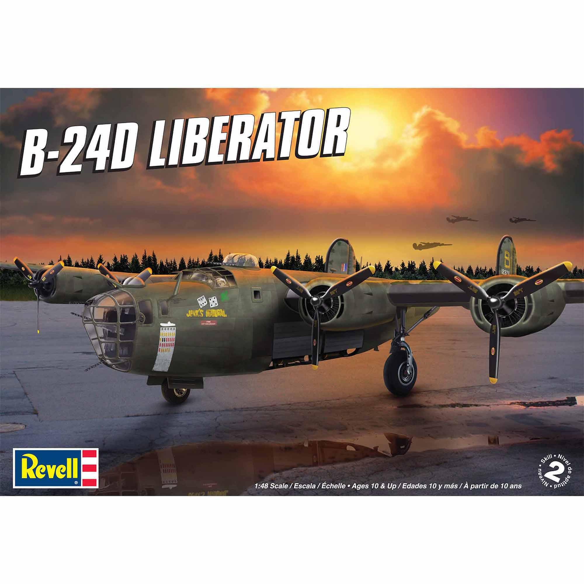 Revell 1:48 Scale B-24D Liberator Model Kit