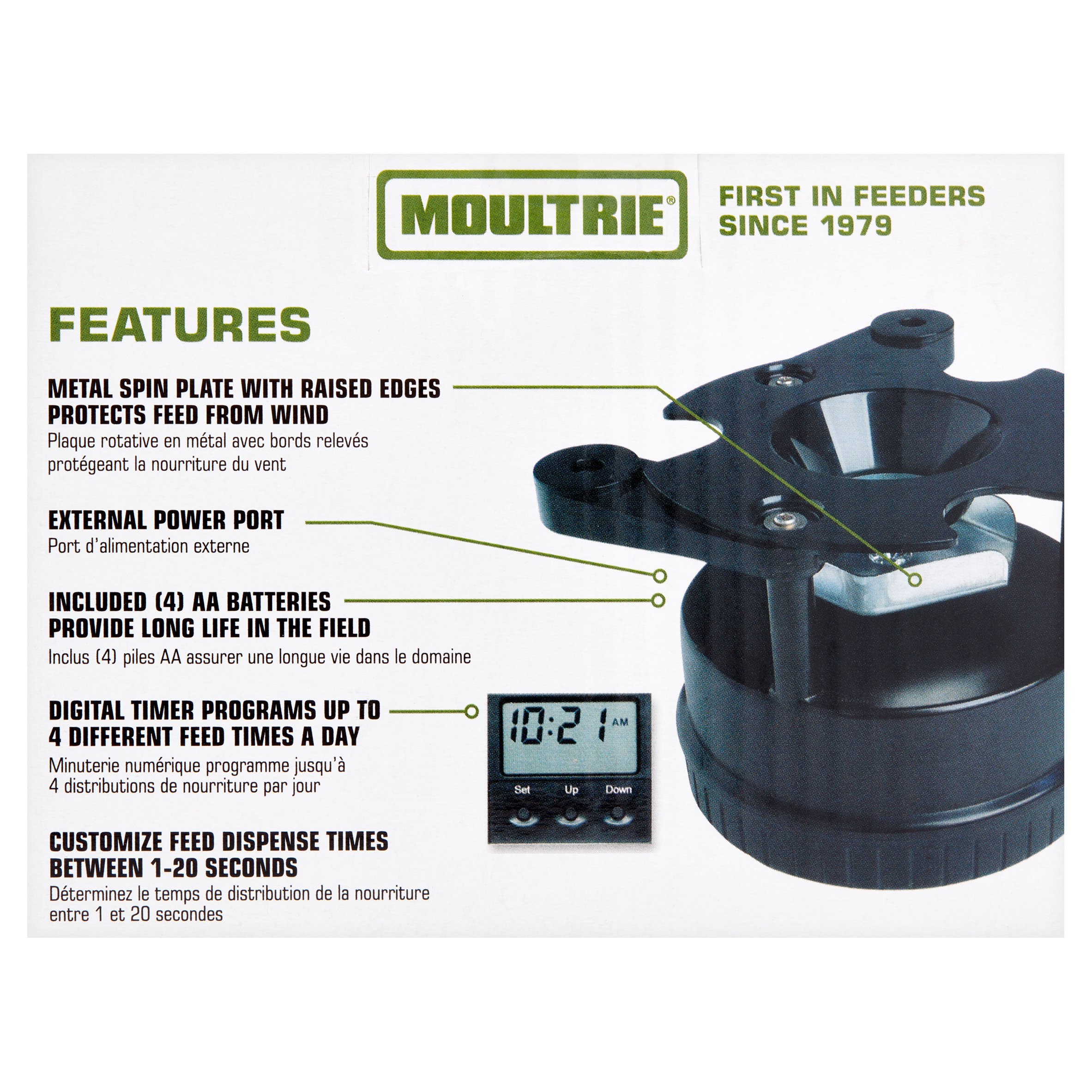 Moultrie All-in-One Timer Feeder Kit - Walmart com