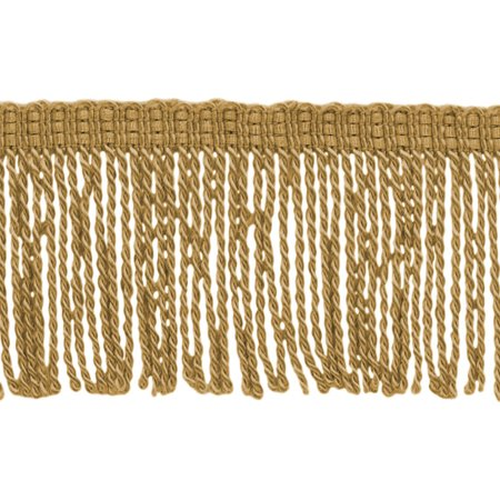 3 Inch Long Antique Gold Thin Bullion Fringe Trim|Style# BFT3|Color: Gold - C4|Sold By the Yard