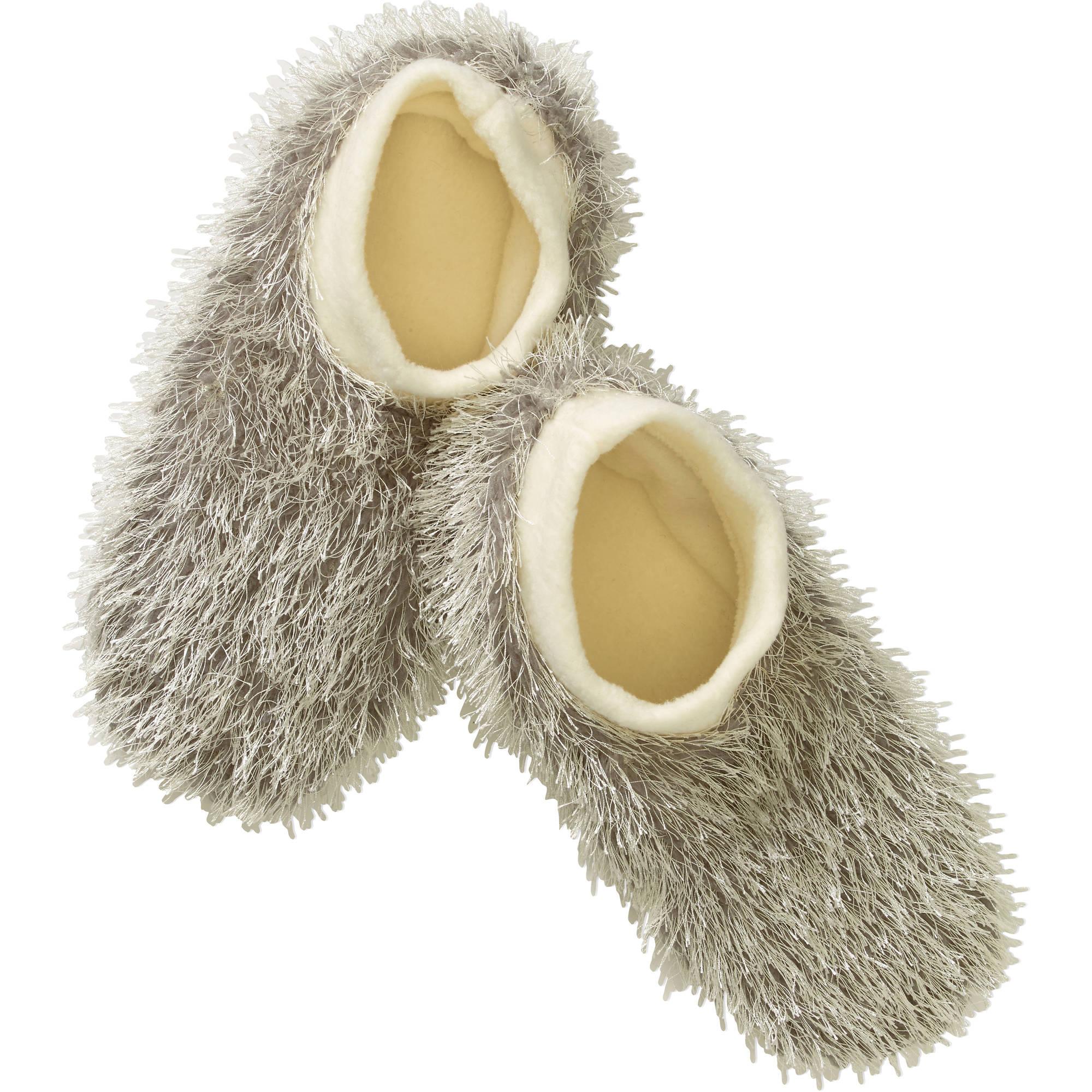 Furry Footable Firecracker Slipper Socks