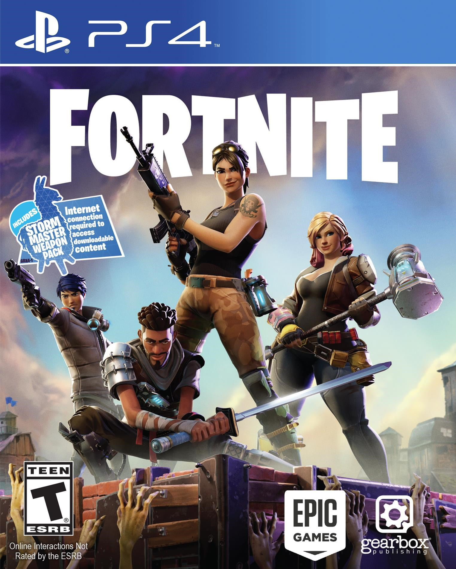 Fortnite (PS4) - Walmart com