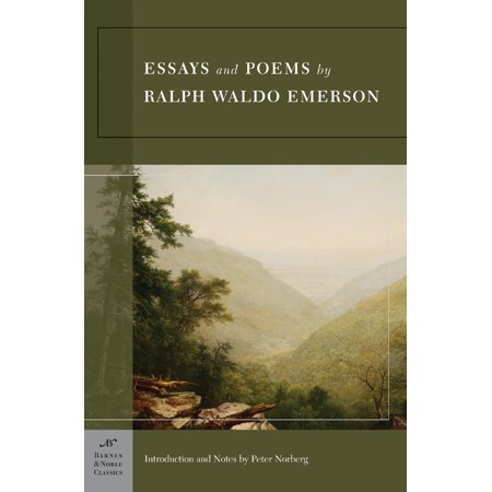Essays and Poems by Ralph Waldo Emerson (Barnes & Noble Classics Series) - Wario Girl