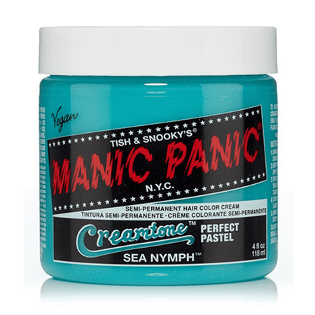 Sea Nymph Manic Panic 4 Oz Hair Dye Creamtones Crazy Colors Cool