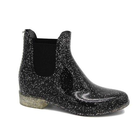 Storm Kidz Girls Booties Rainboots - Chelsea Boots Kids Little Kid/Big Kid Waterproof with Handle (Rain Boot Chelsea)
