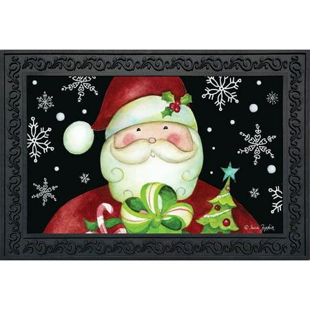 Matt Holliday Framed (Here Comes Santa Christmas Doormat Presents Holiday Indoor Outdoor 18
