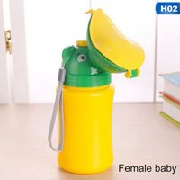 AkoaDa Simple Baby Potty Reusable Toddler Potty Training Emergency Toilet for Camping Car Travel for Boys and Girls