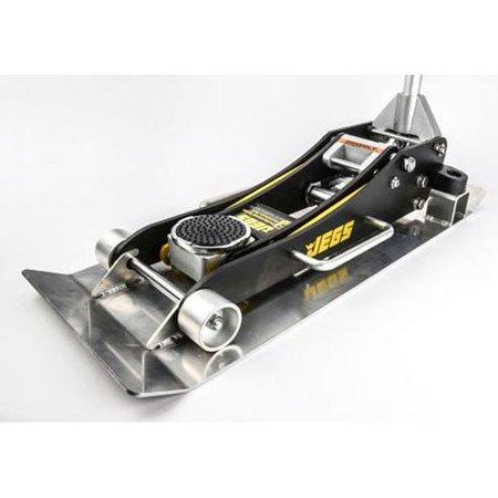 JEGS 80006K Aluminum Jack and Skid Plate Kit Floor Jack:
