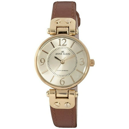 Gold Leather Watch (Women's 10-9442CHHY Gold Leather Quartz Fashion Watch)