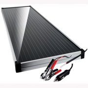 "Schumacher Electric SP-1500 Solar Powered Battery Maintainer, 15 Watts, with Solar Charge Controller, 12"" x 36"" x .86"""