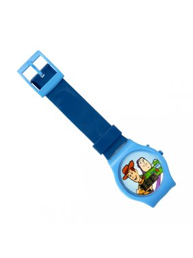 Disney Pixar Toy Story 4 LCD Digital Wrist Watch and Timer Blue