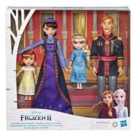 Disney Frozen 2 Arendelle Royal Family 4 Doll Set - Includes Elsa & Anna