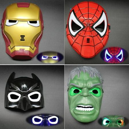 Marvel LED Light Superhero Mask