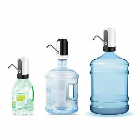 Electric Auto Water Pump Dispenser Gallon Bottle Drinking Portable Button Switch Color:Black - image 5 de 8