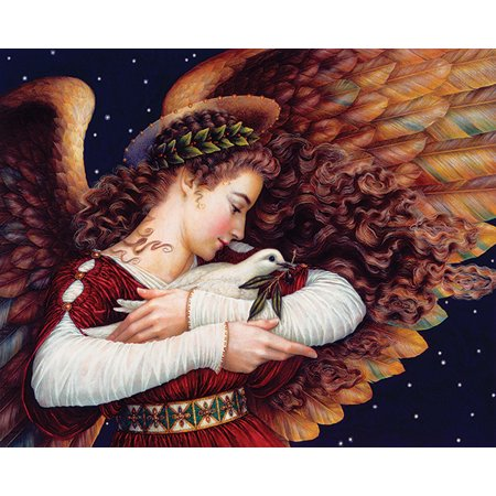 Angels Jigsaw Puzzle (Springbok Angel and Dove - 1000 Piece Jigsaw Puzzle )