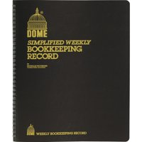 Dome Bookkeeping Record Book, 1 Each (Quantity)
