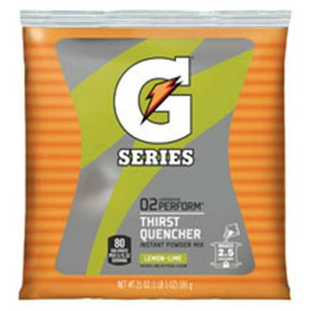 WP000-3969 3969 Gatorade Energy Drink Powder Lemon Lime 2.5Gal 32 Per Case From Quaker Oats Company -# 3969 (Lemon Lime 5 Hour Energy)