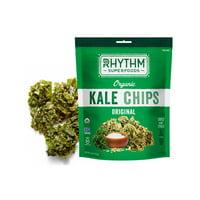 Rhythm Superfoods 2378701 0.75 oz Organic Kale Original Chips - Case of 8
