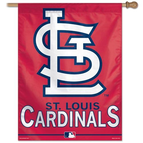 St. Louis Cardinals Official MLB 27 inch  x 37 inch  Banner Flag by Wincraft