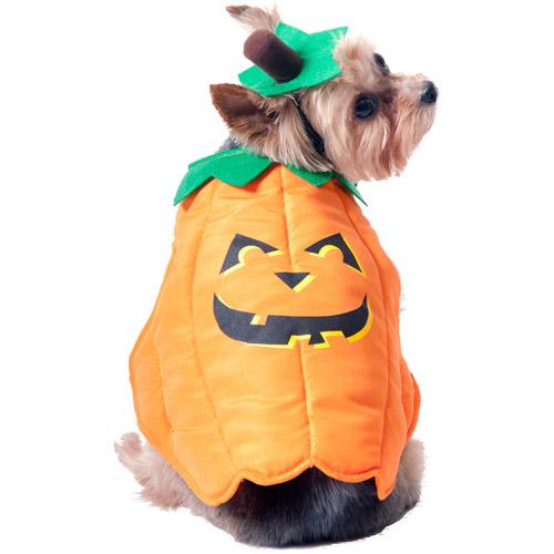 Fun Halloween Dog Costume, Pumpkin, Multiple Sizes Available