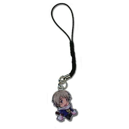 Cell Phone Charm - Hetalia - New SD Chibi Russia Gifts Anime ge17100