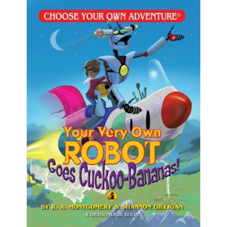 Your Very Own Robot Goes Cuckoo Bananas! - Make Your Own Robot Kit
