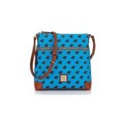 Dooney & Bourke Blue NFL panthers crossbody bag New with tag