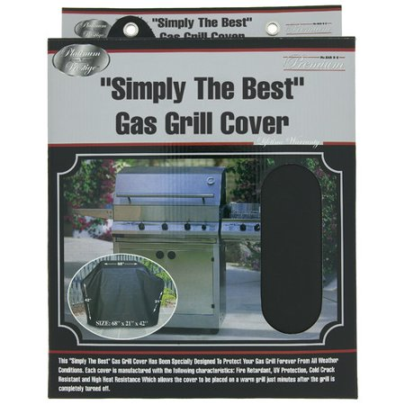 Mr. Bar-B-Q Grill Cover, Large - Black Market Bar And Grill Halloween