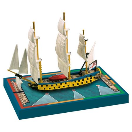 Sails of Glory HMS Leopard 1790 & HMS Isis 1774 - Ship Pack