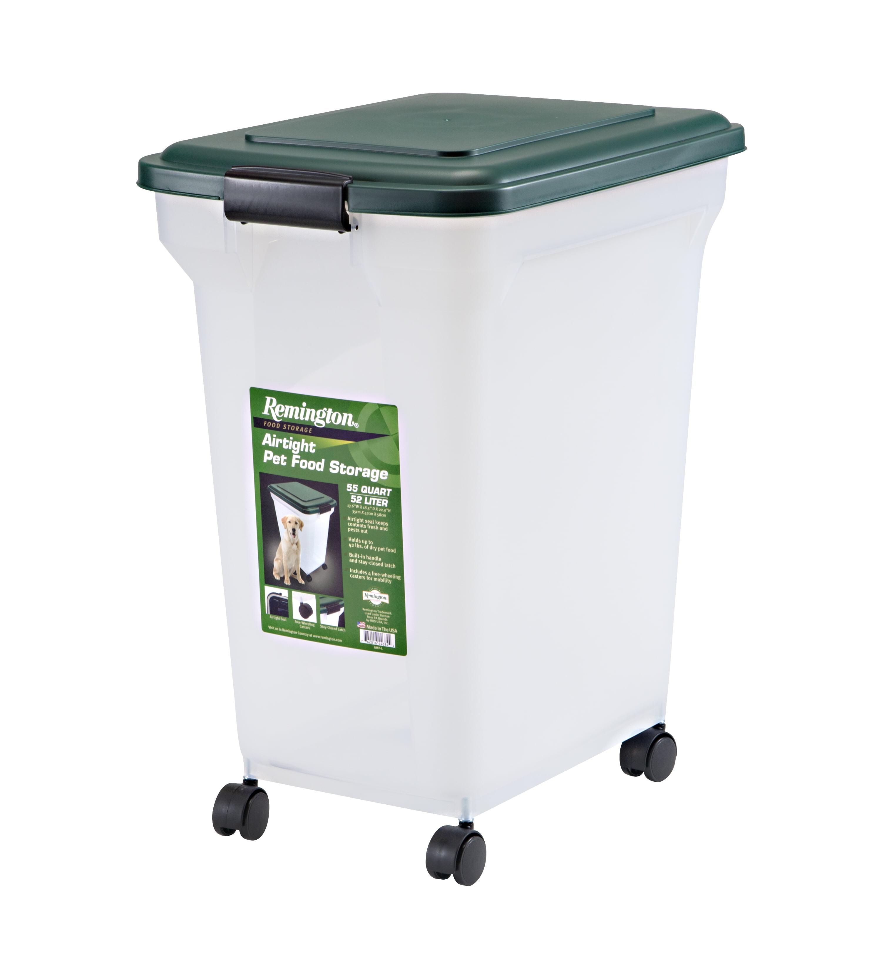 Remington Airtight Pet Food Container, 55 Qt