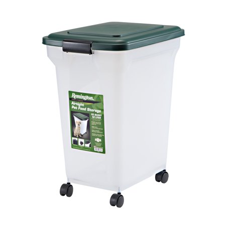 - Remington Airtight Pet Food Container, 55 Qt