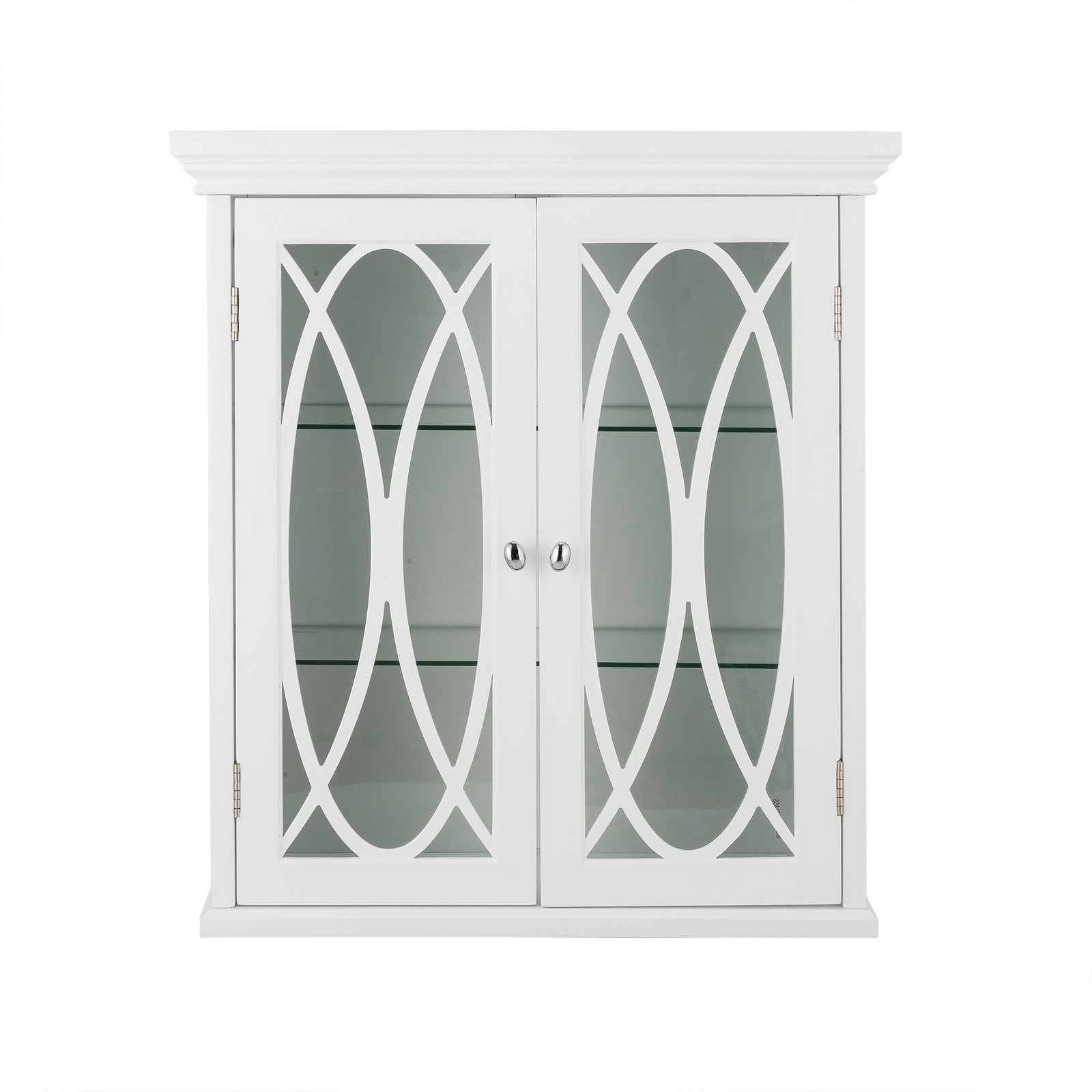 Elegant Home Fashions Meadow Double Door Wall Cabinet