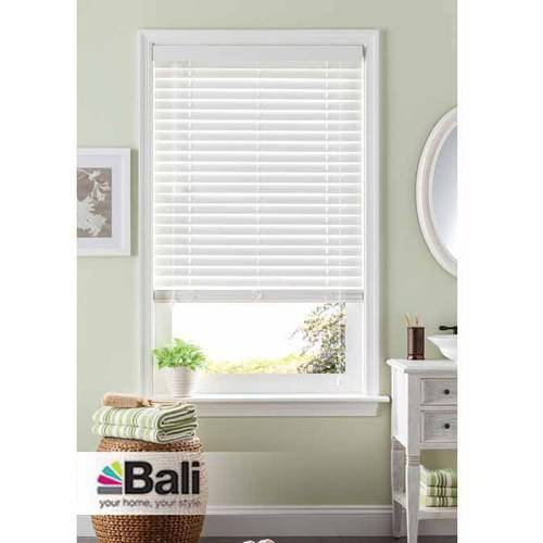 Bali 2 Room Darkening Faux Wood Blind White Available in