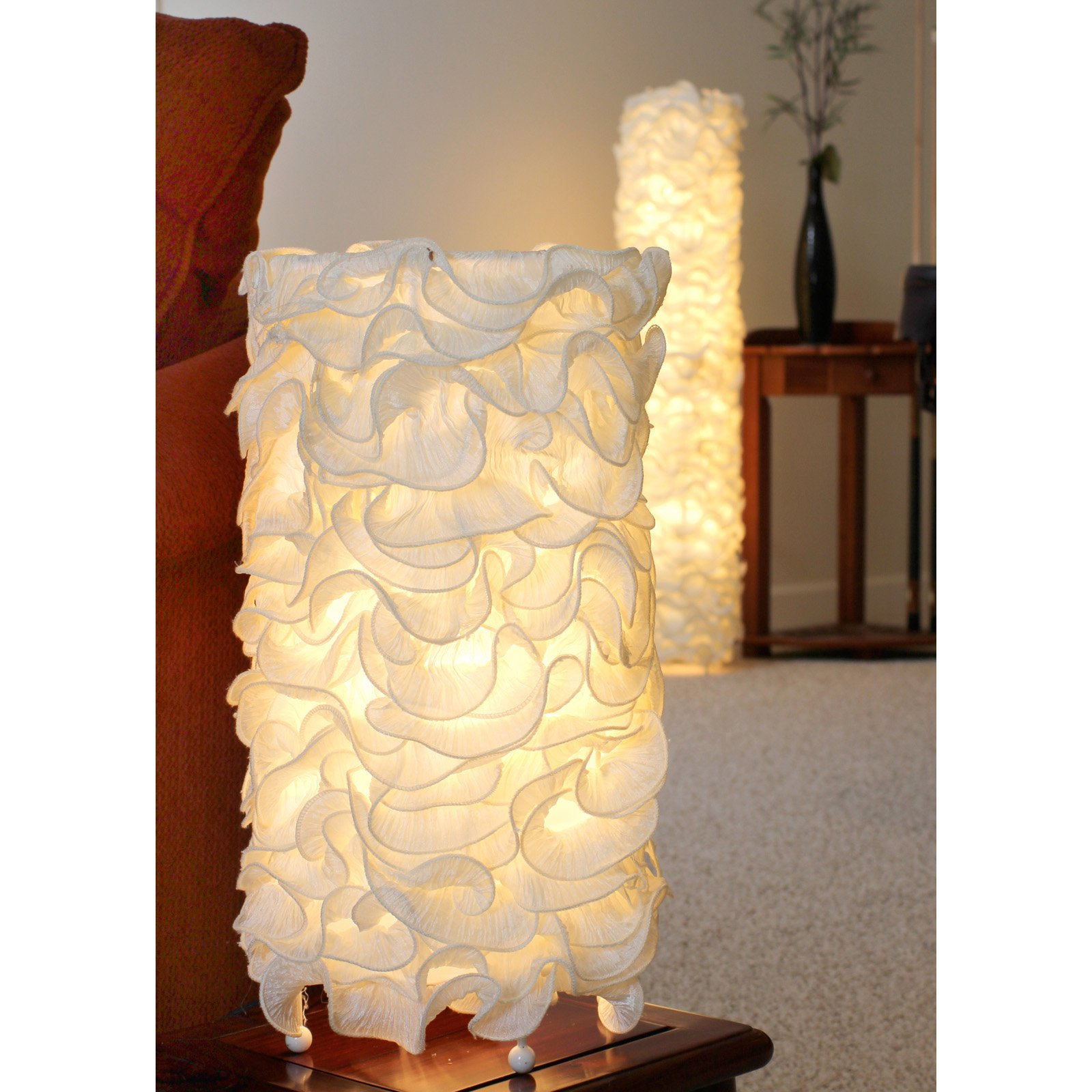 LumiSource Lace Contemporary Floor Lamp