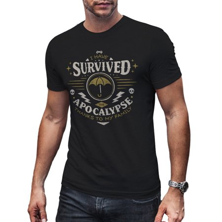 Umbrella Alumni Apocolypse Survivor Super Hero Academy T Shirt Gift Men